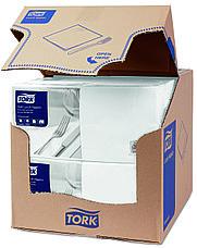 Tork салфетки столовые 33х33 см. белые 477414, фото 2
