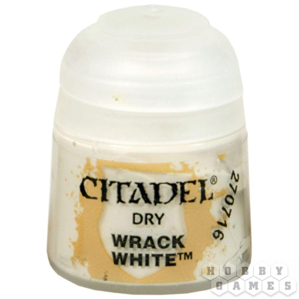 АКСЕССУАРЫ ВАРХАММЕР: Сухие краски: Разрушительный Белый (Dry: Wrack White)