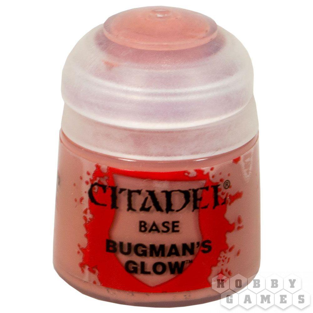АКСЕССУАРЫ ВАРХАММЕР: Баночка с краской: Багмэнское свечение (Paint Pot: Bugman`s Glow)