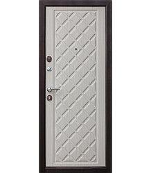 Дверь входная Kamelot Винорит «Беленый дуб» 960 левая