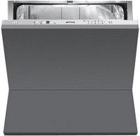 Полностью встраиваемая горизонтальная посудомоечная машина, 60 см, Smeg STC75