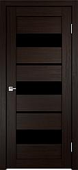 Дверь межкомнатная Интери 12 стекло чёрное