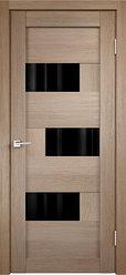 Дверь межкомнатная Интери 16 стекло чёрное
