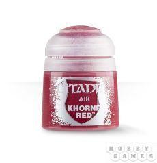 АКСЕССУАРЫ ВАРХАММЕР: Краска для аэрографа: Красный Кхорн (Paint Airbrush: Khorne Red)