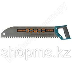 """Ножовка по пенобетону """"Дельта""""(Премиум), закругленное полотно, усиленный зуб, шаг 16 мм, 550 мм (РОС"""