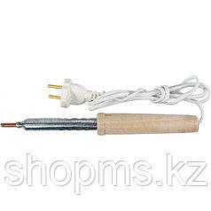 Паяльник 220 В, деревянная ручка 100 Вт