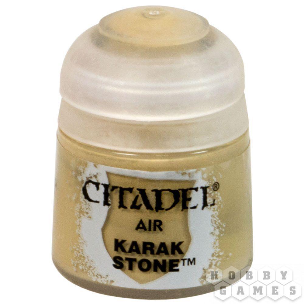АКСЕССУАРЫ ВАРХАММЕР: Краска для аэрографа: Камень Карака (Paint Airbrush: Karak Stone)