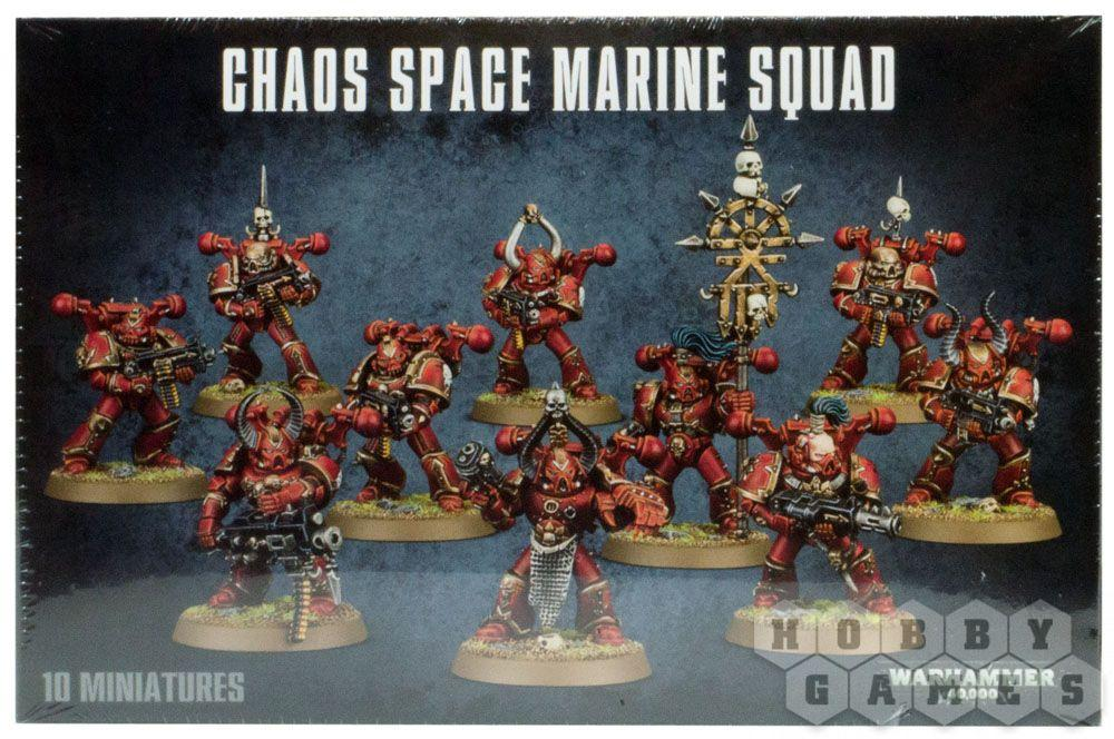 Warhammer 40000: Chaos Space Marines Squad