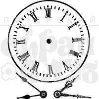 Штамп Часы со стрелками