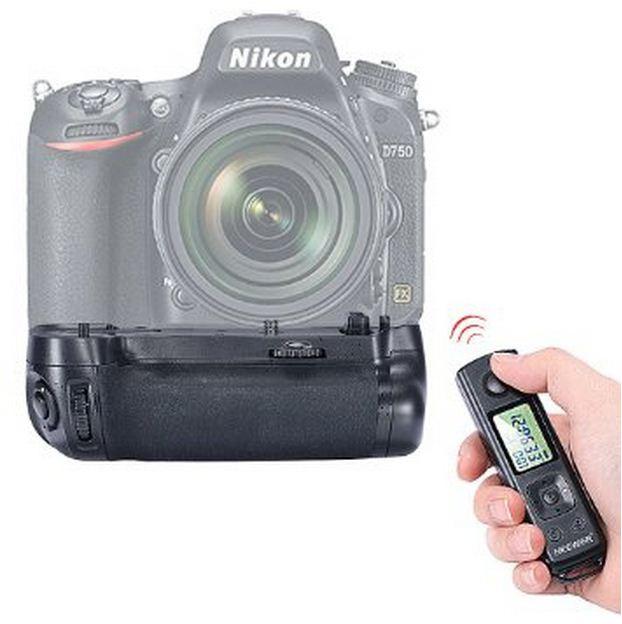 Батарейный блок на Nikon D750 с пультом дистанционного управление /EN-EL15