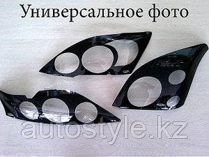 Защита фар Subaru Legacy / Outback 2007-09 (очки кант черный) AIRPLEX