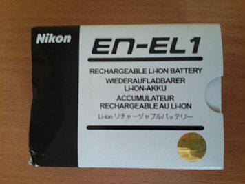Nikon en-el1 аккумулятор.