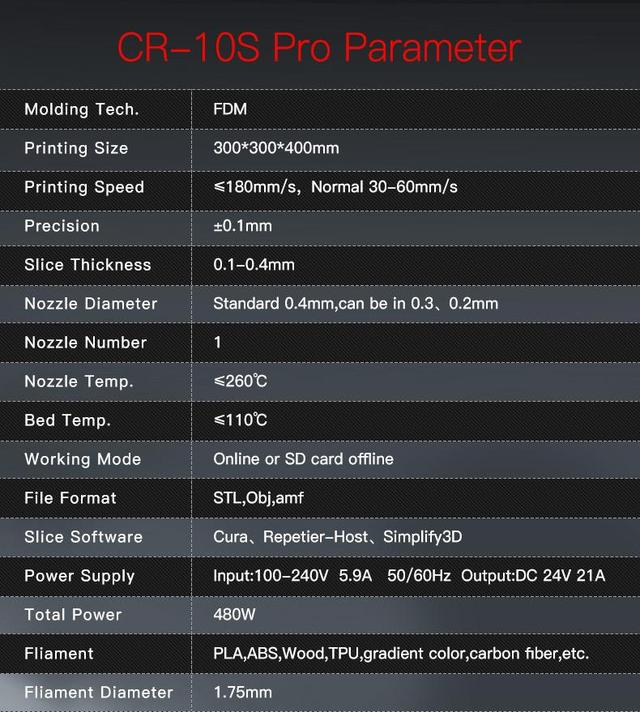 3D принтер Creality CR-10S PRO