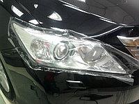 Защита фар /очки на Toyota Camry 50/Тойота Камри 50 2011- прозрачная