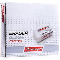 Ластик Berlingo прямоугольный, термопластичная резина, картонный футляр, 40*20*10мм, фото 3