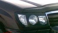 Защита фар/очки на Toyota Land Cruiser 100/Тойота Ланд Крузер 100 1998-2007, фото 1