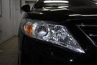 Защита фар /очки на Toyota Camry 45/Тойота Камри 45 2009-2011 прозрачная