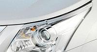 Защита фар /очки на Toyota Avensis/Тойота Авенсис 2009-