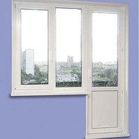 Балконный дверь с окном