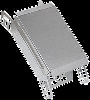 Поворот на 45 гр. вертикальный внешний 80х100 IEK HDZ
