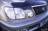 Защита фар /очки на Lexus LX 470/Лексус LX 470 прозрачная, фото 1