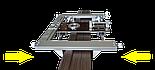 Шаблон для Profi врезки петель и замков в межкомнатные двери, фото 2