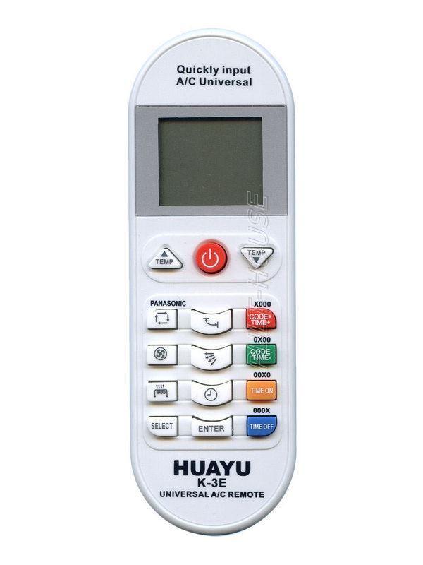 Пульт для кондиционера Huayu - K-3E универсальный