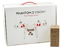 DJI Phantom 2 Vision Plus (V3.0 последняя версия)со встроенной камерой Full HD+Smart battery, фото 2