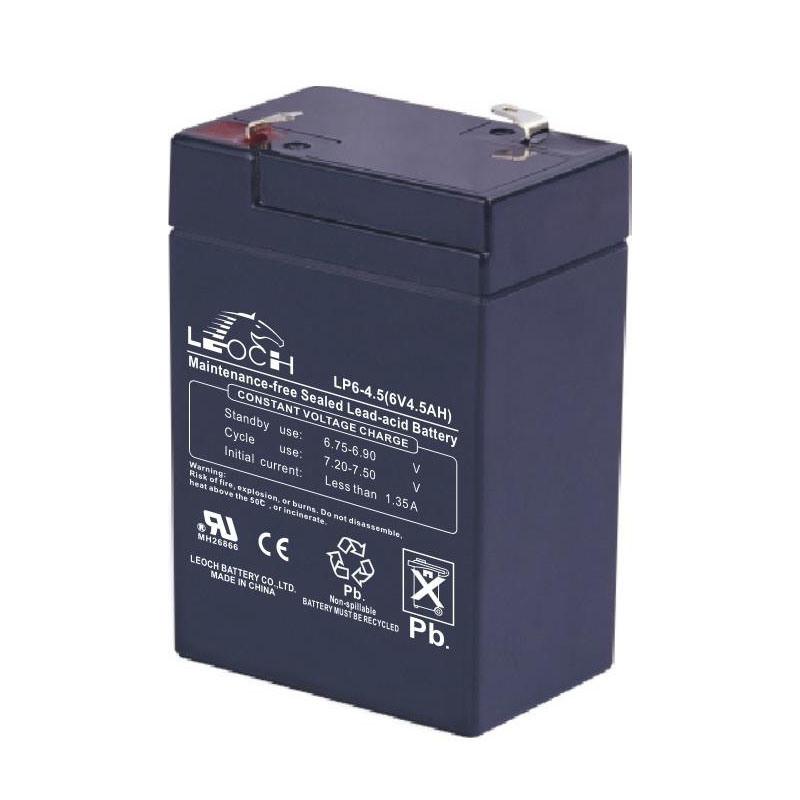 Аккумулятор Leoch Battery LP6-4.5H (4.5Аh 6V) широго спектра применения