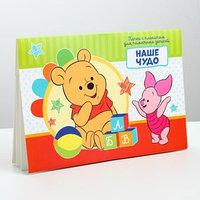 Папка с плакатом для новорожденного 'Наше чудо', Медвежонок Винни и друзья