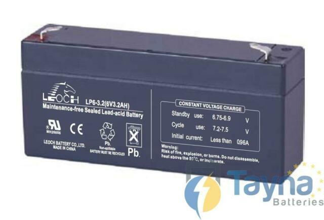Аккумулятор LEOCH Battery Lp6-3.2 (3.2Ah 6V)