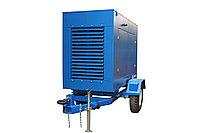 Дизельный генератор Prometey M 10 кВт. 1 фазный. Погодозащитный кожух  на прицепе