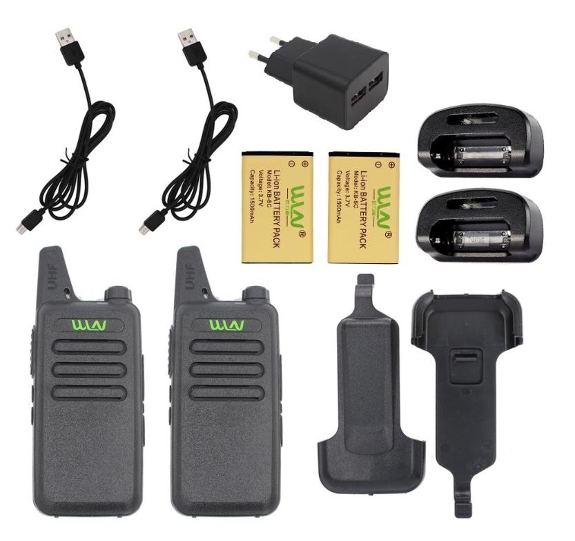 Рация (радиостанция) WLN KD-C1 400-470 МГц