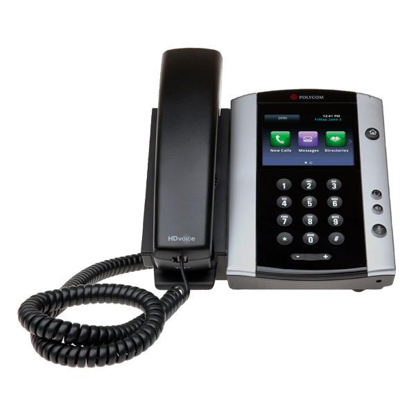 Polycom VVX 500 (2200-44500-025) - Конференц телефон