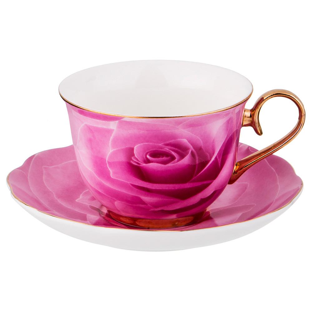 Набор чайный на 1 персону «Роза»