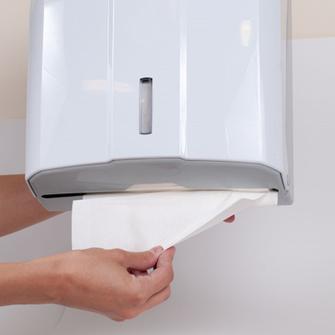 Гигиеническая бумажная продукция для диспенсеров