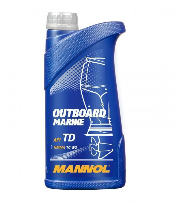Моторное масло для водной техники MANNOL Outboard Marine API TD 1л.