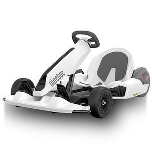Детский электромобиль карт Smart Balance Ninebot Gokart Kit White, фото 2