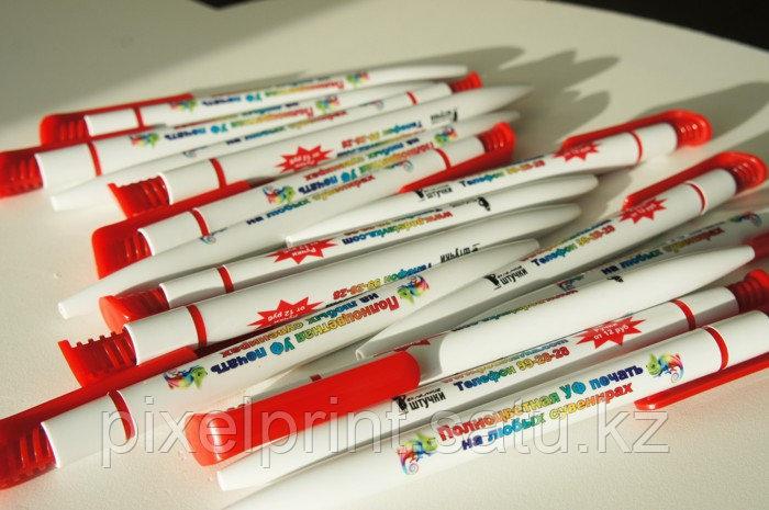 Ручки с логотипом в Алматы