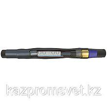 Соединительная кабельная Муфта 1 ПСТ-10  (35-50) с соединителем  (комплект на 3 фазы) (экран ППД) ЗЭТА