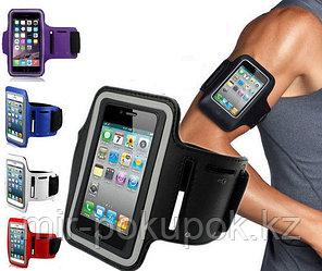 Влагозащитный спортивный чехол для телефона с креплением на руку для бега 5.5 дюйма, Алматы