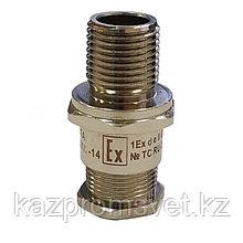 Ех-кабельный ввод ВКВ2-НС-М25-14 1Ех d е II Gb X (ЗЭТА) из нержавейки