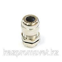 Кабельный ввод  М  10 латунный УТ1,5 IP66/IP67/IP68 (d кабеля 3-6,5 мм) ЗЭТА