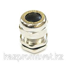 Кабельный ввод  М  20 латунный УТ1,5 IP66/IP67/IP68 (d кабеля  6-12 мм) ЗЭТА