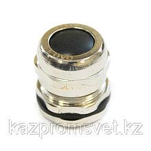 Кабельный ввод  М  22 латунный УТ1,5 IP66/IP67/IP68 (d кабеля 6-12 мм) ЗЭТА