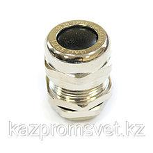 Кабельный ввод  М  20 латунный УТ1,5 IP66/IP67/IP68 (d кабеля 10-14мм) ЗЭТА