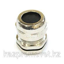 Кабельный ввод  М  25 латунный УТ1,5 IP66/IP67/IP68 (d кабеля 8-16мм) ЗЭТА