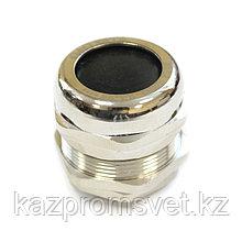 Кабельный ввод  М  32 латунный УТ1,5 IP66/IP67/IP68 (d кабеля 14-25мм) ЗЭТА