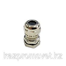 Кабельный ввод PG   7 латунный УТ1,5 IP68 (d кабеля 3-6,5 мм) ЗЭТА