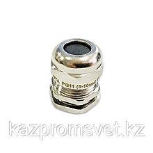 Кабельный ввод PG  11 латунный УТ1,5 IP68 (d кабеля 5-10 мм) ЗЭТА